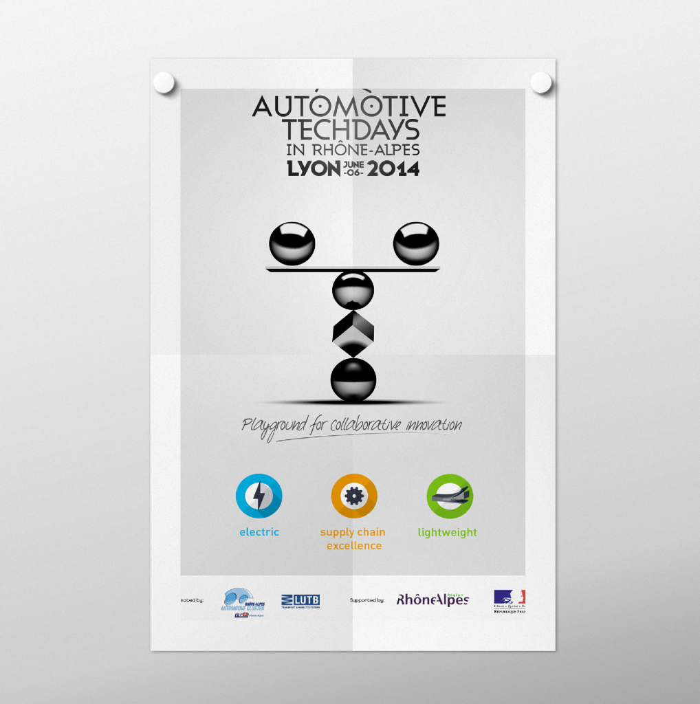 Affiche Automotive Techdays